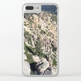 Sierra Wilderness Clear iPhone Case