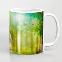 fairy tale Mugs featuring Fairy tale by Armine Nersisian