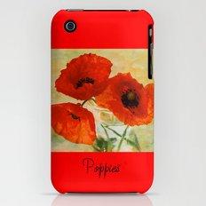 Poppies Slim Case iPhone (3g, 3gs)