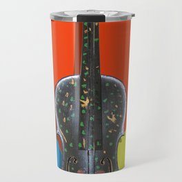 Funky Violin Travel Mug