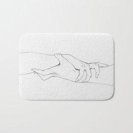 Untitled Hands No. 3 Bath Mat