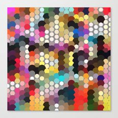 Forest of dots gg Canvas Print