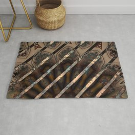 Abstract by Leslie Harlow Rug