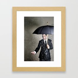 The Pessimist Framed Art Print