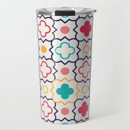 Cute Eastern Pattern Travel Mug