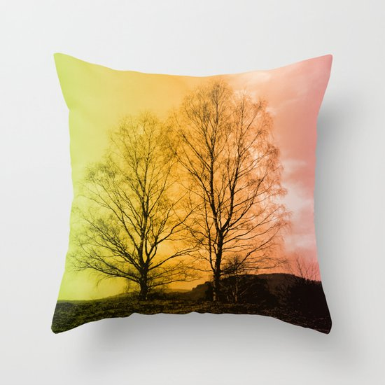 Warm Glow  - JUSTART © Throw Pillow