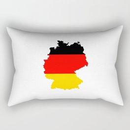 germany flag map Rectangular Pillow