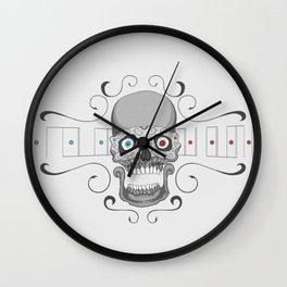 The great Skull Wall Clock