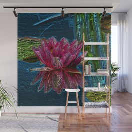 WaterLily20160101 Wall Mural