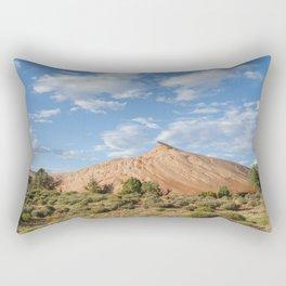 The Sandstone Pyramid Rectangular Pillow