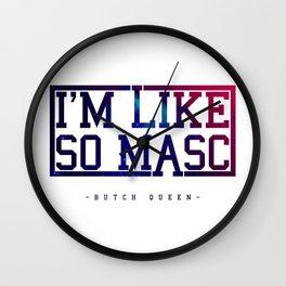 BQ - Like Masc Wall Clock