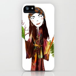 Our Lady of the Prairie iPhone Case