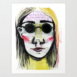 Head Shot #4 Art Print