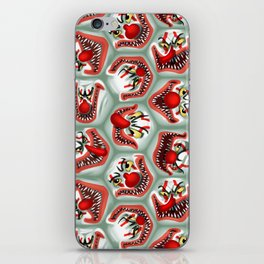 Free Hugs clowns iPhone Skin