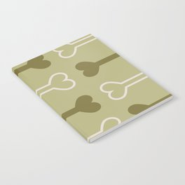Bone surface pattern (green) Notebook
