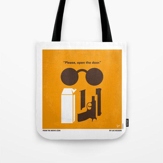 No239 My LEON minimal movie poster Tote Bag