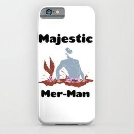 Majestic Mer man 2 iPhone Case