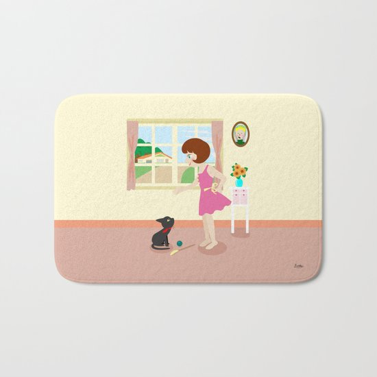 Whim and Girl Bath Mat
