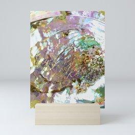 Mother of Pearl Abalone Shell Mini Art Print