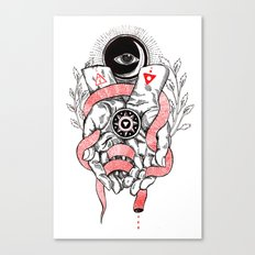 The Blood offering Canvas Print