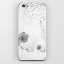 Winter calls iPhone Skin
