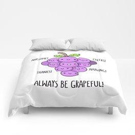 Grapeful Comforters