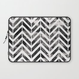 Brush Chevron Laptop Sleeve