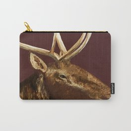 Big Bull Elk Profile Carry-All Pouch