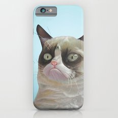 Grumpy-Blue Sky iPhone 6 Slim Case