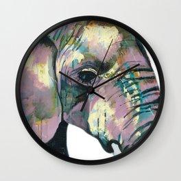 Jeweled Elephant Wall Clock
