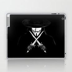 V for Vendetta (e7) Laptop & iPad Skin