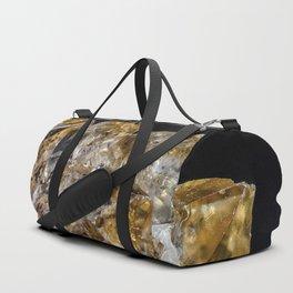 Citrine Crystals Duffle Bag