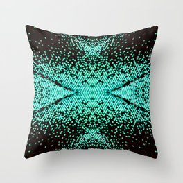 The Peacock Butterfly Throw Pillow