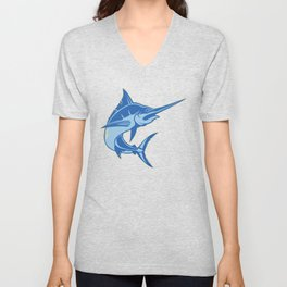 Sailfish is one of the most hardest fishes to catch Unisex V-Neck