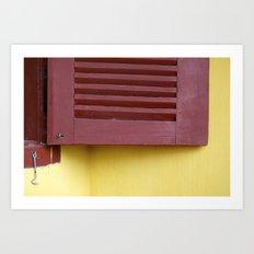 When a door closes, a window opens Art Print