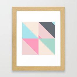 Geometric Pattern IV Framed Art Print