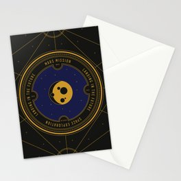 Mars Mission Stationery Cards
