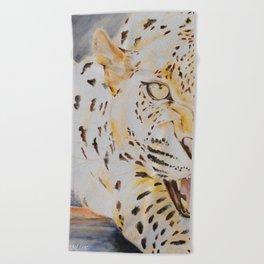 'WILD CAT' Beach Towel