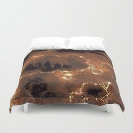 Harry Potter - The Forcefield Breaks Duvet Cover