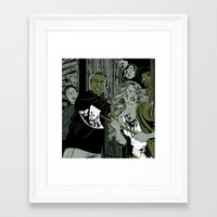 zombies Framed Art Prints featuring Zombies by KissingCullens