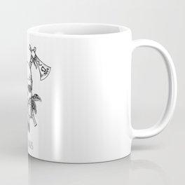 Tomahawk Skull Coffee Mug