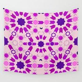 Purple Arabesque Wall Tapestry