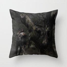 Moonlight Tango Throw Pillow