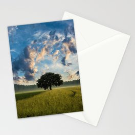 Fields of Gold, Twilight, Rhode Island Stationery Cards