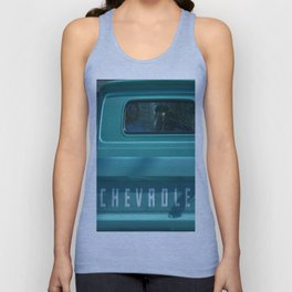 Green Chevy Truck Unisex Tank Top