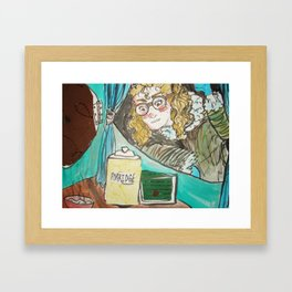 Goldie, Locked Out Framed Art Print