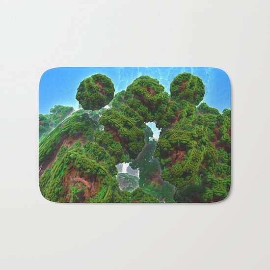Bacterium Hedgerow Bath Mat