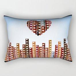 You Make This City Memorable Rectangular Pillow