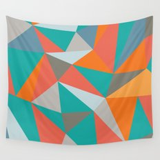 Summer Deconstructed Wall Tapestry