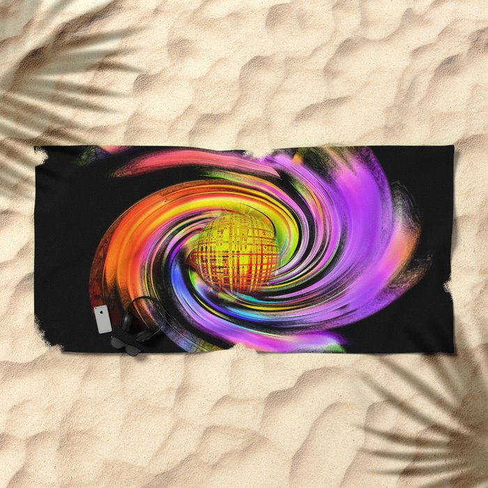 Abstract Perfection 26 Beach Towel